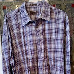 Nordstrom Mens Dress/ Casual Shirt White Sz XXL
